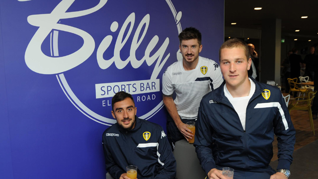 BILLY'S SPORTS BAR OPENS TODAY!