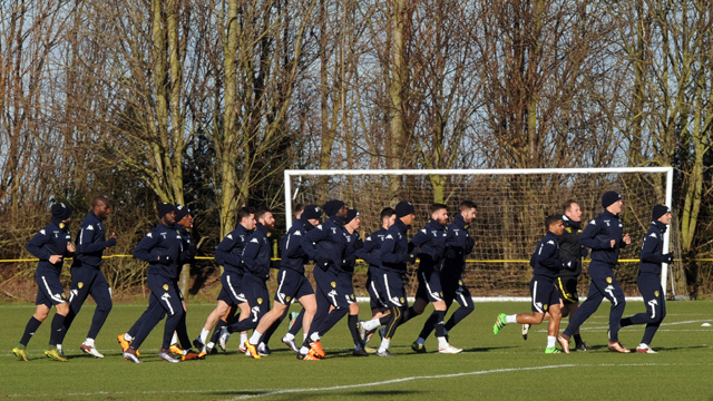 TRAINING GALLERY: BORO PREPARATIONS BEGI...