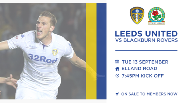 TICKETS: BLACKBURN ON MEMBERS SALE