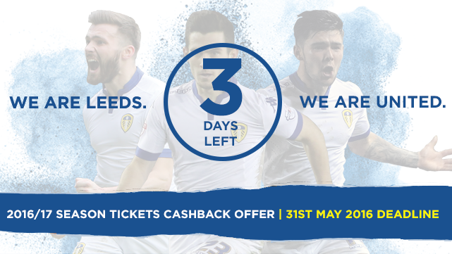 SEASON TICKETS: DEADLINE APPROACHING!