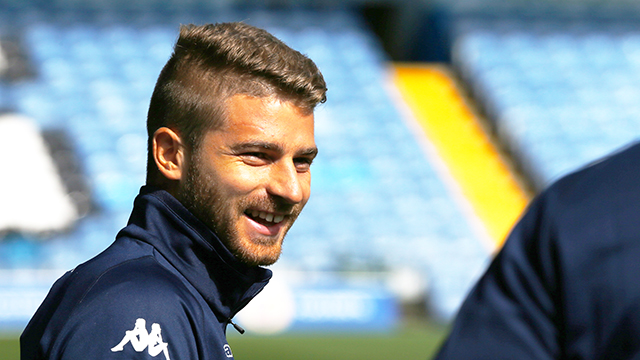 BERARDI SET FOR UNDER-23S OUTING