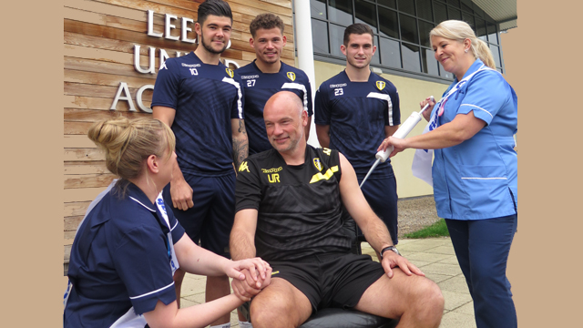 UNITED KICK-OFF NHS TRUST CAMPAIGN