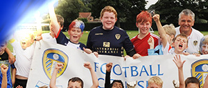 Leeds United plays a key role in developing the game across and beyond the City of Leeds through The Leeds United Foundation Programme...