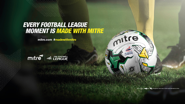NEW MITRE MATCH BALL FOR 2015/16