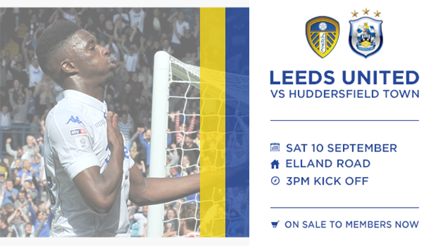 TICKETS: HUDDERSFIELD ON MEMBERS SALE