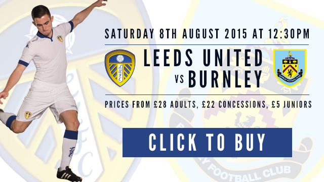 BURNLEY: TICKETS ON GENERAL SALE