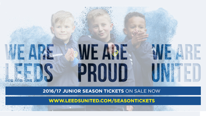 SEASON TICKETS: JUNIOR PRICES REDUCED!