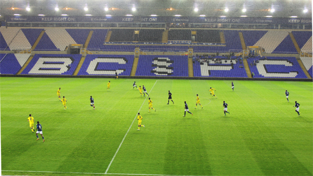 REPORT: U21S TOO STRONG FOR BLUES
