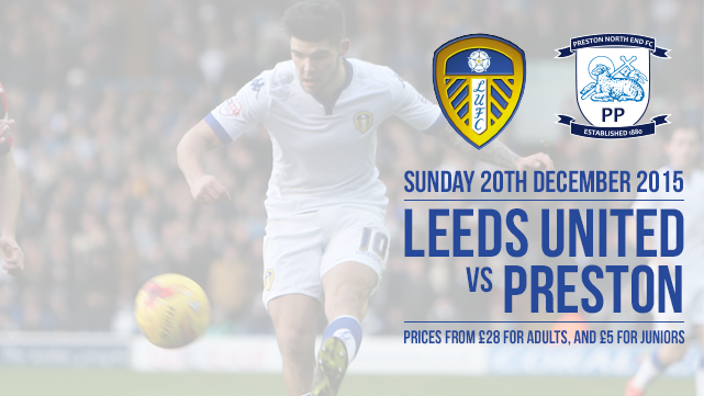 TICKETS: PRESTON ON SALE TO MEMBERS