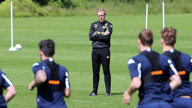 PRE-SEASON: GARRY MONK ON DAY ONE