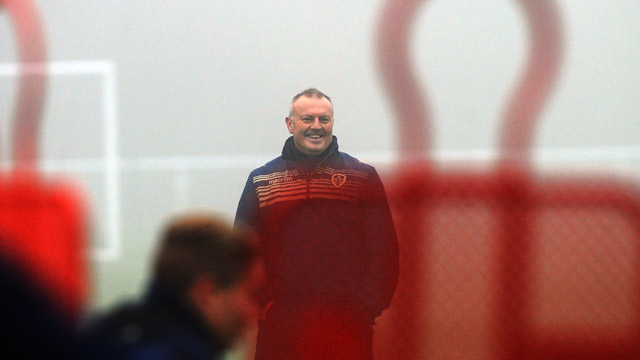 REDFEARN HOPES TO REWARD FANS