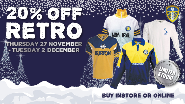 20% OFF RETRO MERCHANDISE