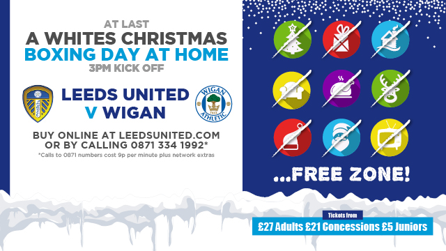 WIGAN TICKETS ON SALE NOW!