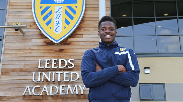 YOUNG MIDFIELDER AGREES PROFESSIONAL TERMS