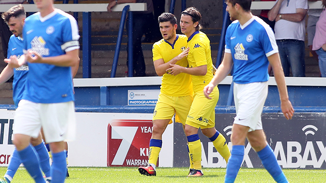 REPORT: POSH EDGE TO VICTORY
