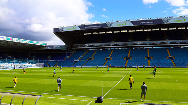 GALLERY: ELLAND ROAD TRAINING