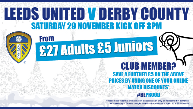 DERBY TICKETS: BRING THE FAMILY