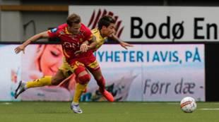 Ole Martin Rindarøy mot Bodø/Glimt