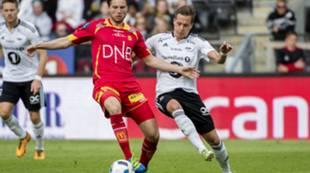 Marius Lundemo mot Rosenborg