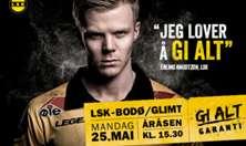 LSK - Bodø/Glimt plakat