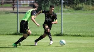 Bassel Jradi på trening
