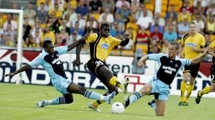 Olivier Occean mot Newcastle