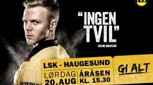 Kampplakat Haugesund