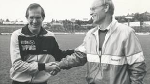 Tom Lund og Svein Haagenrud