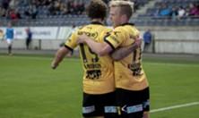 Gary Martin og Erling Knudtzon mot Viking
