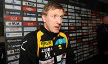 Runar Kristinsson etter kampen mot Aalesund
