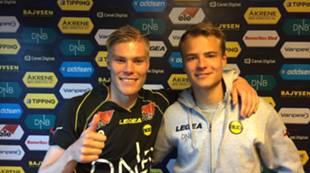 Martin Falkeborn og Erik Brenden mot Hauerseter