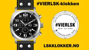 #VIERLSK-klokke