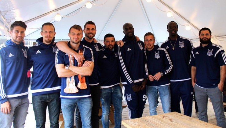 RailHawks Held Exclusive Beer-Tasting Event for Season Ticket Holders
