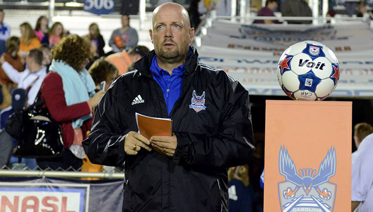 RailHawks Sign Colin Clarke to a Multi-Year Contract