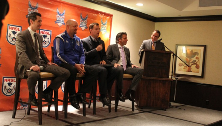 RailHawks Held Press Conference Ahead of First Preseason Match Against Seoul E-Land FC