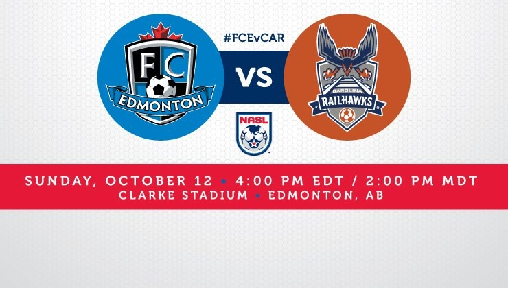 Match Preview: Carolina RailHawks at FC Edmonton