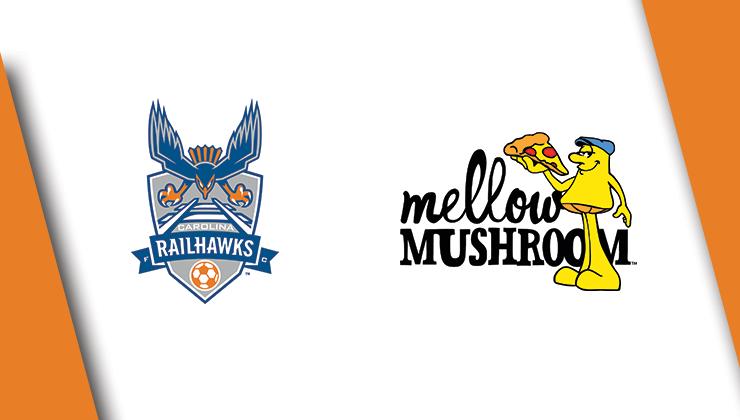 Mellow Mushroom Renews RailHawks Partnership for 2015 Season