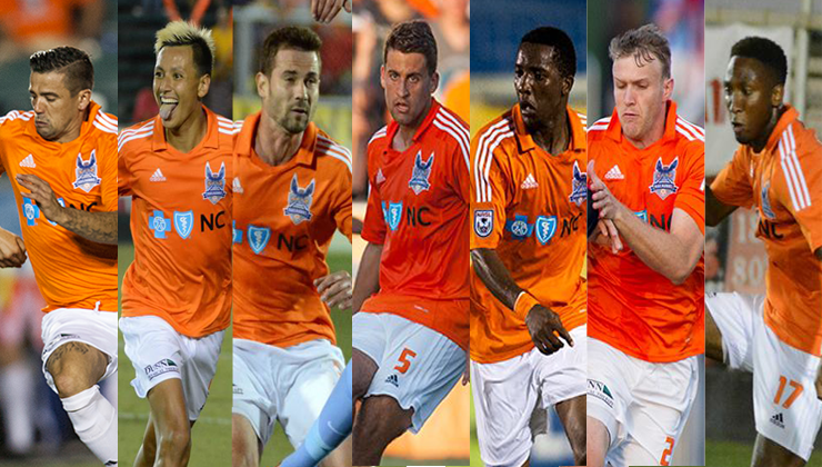 RailHawks Exercise Contract Options on Six Players