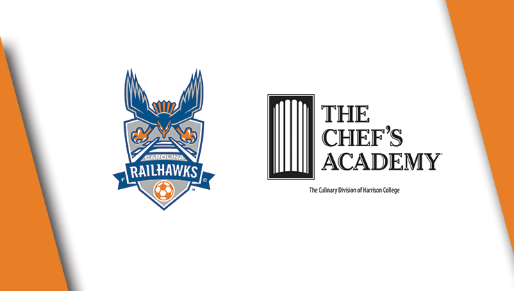 The Chef's Academy Renews RailHawks Partnership for 2015 Season