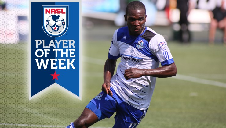 Midfielder Lance Laing Named NASL Player Of The Week