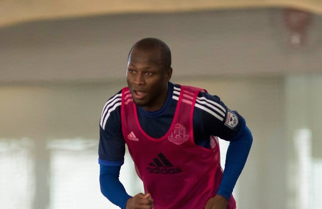 Nyassi Enjoying Eddies Experience as First Week of Training Comes to Close