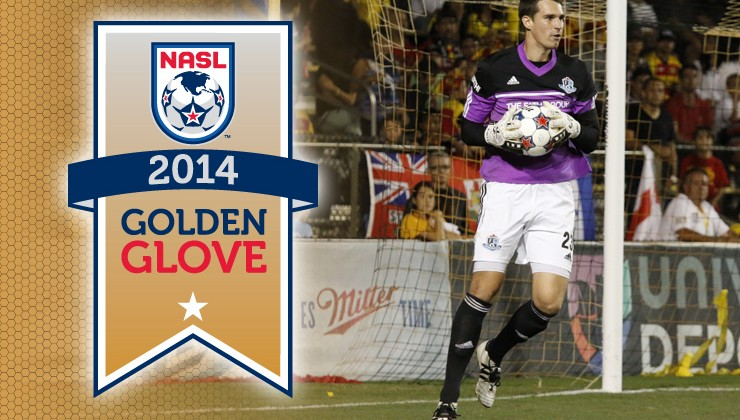John Smits Earns NASL Golden Gl