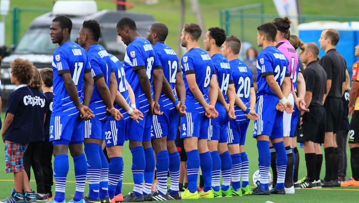 FC Edmonton Shoots for the Stars in the EDSA Major League