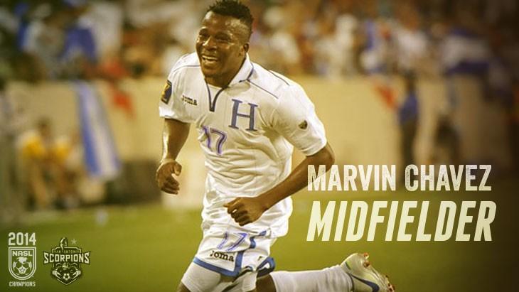 Scorpions Sign Impact Player Marvin Chávez