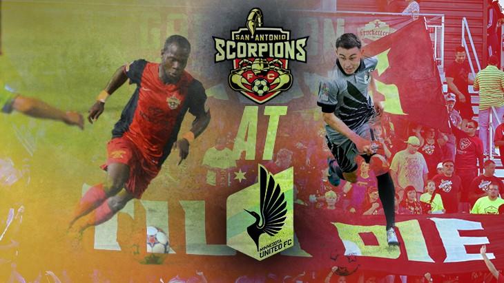 MATCH PREVIEW: San Antonio Scorpions at Minnesota United