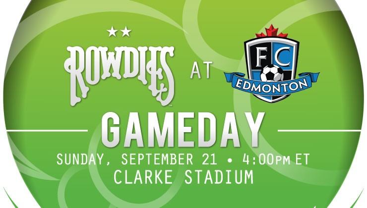 Gameday: Rowdies Face FC Edmonton