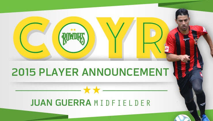 Rowdies Sign Venezuelan International Juan Guerra