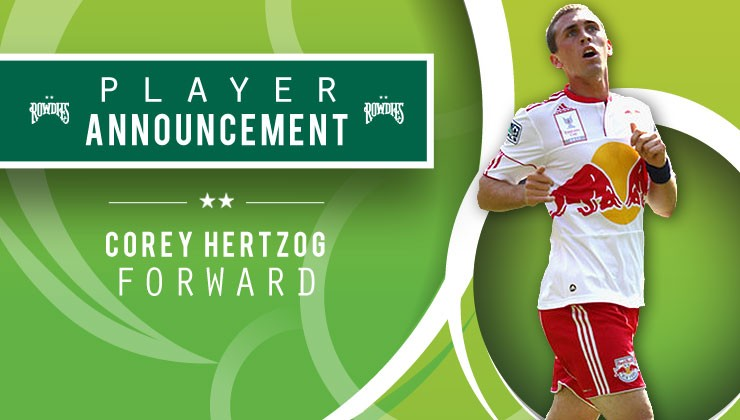 Rowdies Sign Forward Corey Hertzog