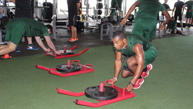 Preseason Strength and Conditioning to Benefit Rowdies in 2015 Season