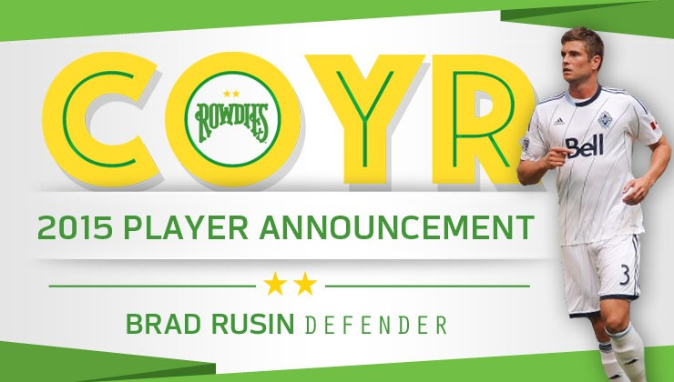 Rowdies Sign Defender Brad Rusin